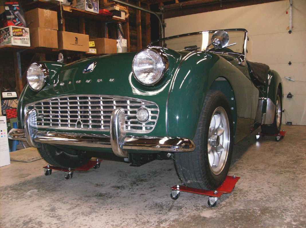 1960 Triumph TR3A project re-